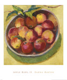 Apple Bowl II Prints by Dawna Barton