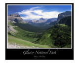 Glacier National Park II - Going to the Sun Photographic Print by J Wayne Pinkston