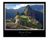 Machu Picchu Reproduction photographique par J Wayne Pinkston