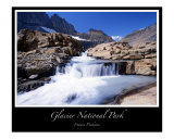 Glacier National Park - Grinnell Lake Photographic Print by J Wayne Pinkston