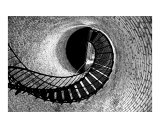 Lighthouse Stairs 3 Photographic Print by Frank Tozier