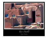 Taos Pueblo Adobe House Photographic Print by J Wayne Pinkston
