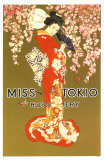 Miss Tokyo Masterprint