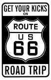 Get Your Kicks on Route 66 Masterprint