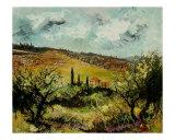 Tuscan Landscape Giclee Print by Pol Ledent