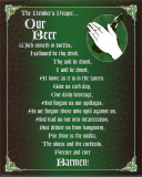 The Drinker&#39;s Prayer Poster