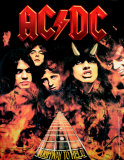 ACDC- Highway To Hell Póster
