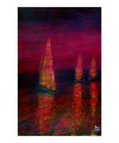 Sailing home Giclee Print by Kenny Primmer