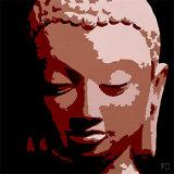 Bouddha II Print by Sylvie Aubert