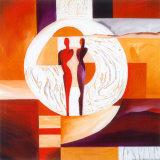 Circle of Love I Affischer av Gockel, Alfred