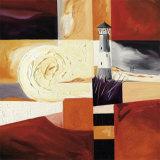 Starry Sunrise II Poster af Alfred Gockel