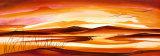 Faret vild i ørkenen I  Posters af Alfred Gockel