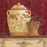 Ginger Jar and Ivory Poster by Gloria Eriksen