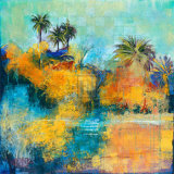 Tropical Evening I Poster by Norm Daniels