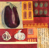 Spanish Kitchen IV Poster by Liz Myhill