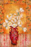 Silk Petals Prints by  Augustine (Joseph Grassia)