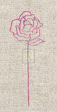 Romantic Rose II Poster by Alice Buckingham