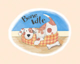 Bone Idle Prints by Kate Mawdsley