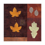 Amber Leaves I Prints by Max Carter