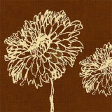 Chrysanthemum Square III Posters by Alice Buckingham