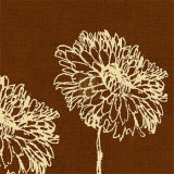 Chrysanthemum Square II Art by Alice Buckingham