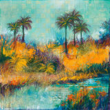 Tropical Evening II Prints by Norm Daniels