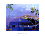 Baie des Anges, Nice Print by Raoul Dufy