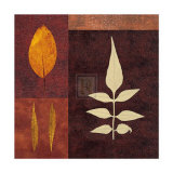 Amber Leaves II Print by Max Carter