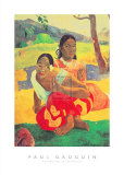 Paul Gauguin - When Will You Marry? (Nafea Faa Ipoipo) Reprodukce