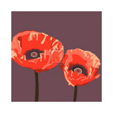 Poppies Posters by Emily Burrowes