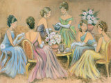 Elegant Tea II Prints by Karen Dupré