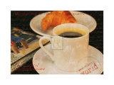 Coffee Morning I Poster par Teo Tarras