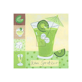 Kiwi Spritzer Posters by Sophie Harding