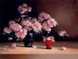 Oriental Blossom Art by Pippa Chapman