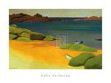 Die Bucht von Tregastel Poster von Félix Vallotton