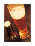 Bavarian Beer Prints by Teo Tarras