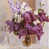 Lilac Mist I Poster by Valeri Chuikov