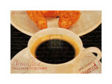 Coffee Morning II Affiches par Teo Tarras
