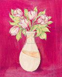Les Fleurs Rose I Posters by Nicola Corrigan