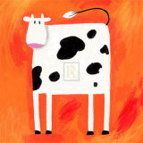 Quirky Animals II Prints by Sophie Harding