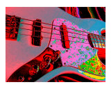 Psychedelic Jazz Photographic Print by Robert Pursley