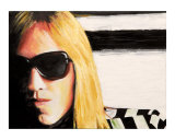 Tom Petty Giclee Print by Karen Yee
