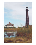 Port Bolivar Lighthouse Photographic Print by Larry L. Weingartner