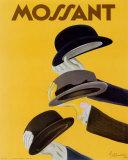 Reclameposter hoeden, Chapeau Mossant Posters van Leonetto Cappiello