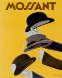 Chapeau Mossant Prints by Leonetto Cappiello