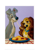 Lady and the Tramp, A Recipe for Romance Posters