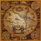 Antique Map, Cartographica II Poster