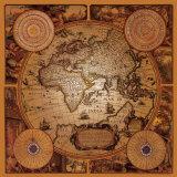Antike Landkarte, Cartographica I Poster