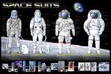 Space Suits Posters