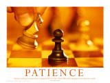 Cierpliwość Plakat